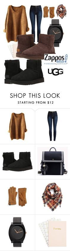 """""""The Icon Perfected: UGG Classic II Contest Entry"""" by tsabithazahrat ❤ liked on Polyvore featuring UGG Australia, UGG, BP., ugg and contestentry"""