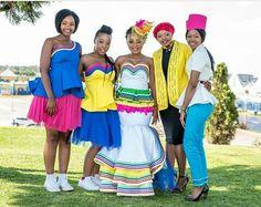 African wedding Pedi Traditional Attire, Sepedi Traditional Dresses, South African Traditional Dresses, African Traditional Wedding, Traditional Weddings, African Wedding Dress, African Print Dresses, African Print Fashion, African Fashion Dresses