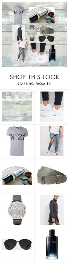 """""""Monokrom 2k12"""" by linus-isotalus on Polyvore featuring Wall Pops!, Reebok, N°21, ASOS, Billabong, Ressence, Ted Baker, Bally, Christian Dior and men's fashion"""