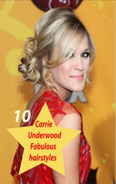 Want to follow naturally curly fabulous Carrie Underwood hairstyles? Here is some fabulous Carrie Hairstyle to choose from. Scroll down for fabulous Carrie Underwood hairstyles.
