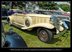 1932 Chrysler Custom Imperial Convertible Roadster | Flickr - Photo Sharing!