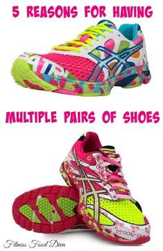 5 Reasons To Use Multiple Pairs of Running Shoes