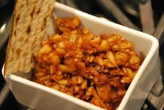 Passover Charoset, Kid friendly and nut free! thinking not just for passover!