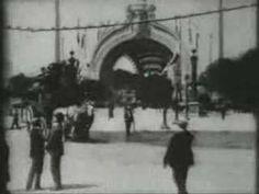 Film RARE de l'exposition Universelle de Paris en 1900