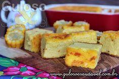 Este Bolo de Milho Cremoso na Travessa faz sempre sucesso! É super simples, #GlutenFree e #Diet.  #Receita aqui: http://www.gulosoesaudavel.com.br/2015/06/25/bolo-milho-cremoso-travessa/