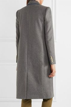 J.Crew - Collection Olivia Wool And Cashmere-blend Coat - Gray - US0