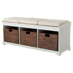 www.target.com p entryway-bench-with-3-baskets-cushions - A-51265410?lnk=rec