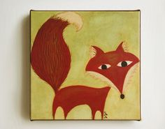 SALE 40 OFF Fox Nursery Art Giclee Print  The by pictureatale, $23.99