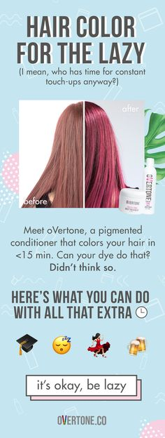 oVertone is changing the game for bright hair.