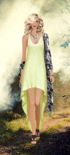 Covet Fashion Game-Challenge-Earth Godess