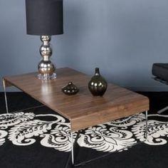 Table Basse coloris Noyer Hyck