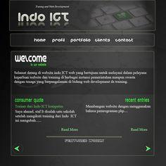Web Layout IndoICT