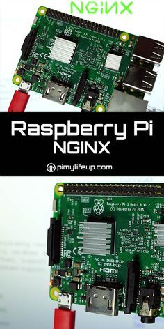 In this tutorial we take you through the steps to setting up a Raspberry Pi Nginx server. Nginx is a memory efficient alternative to apache. Iot Projects, Computer Projects, Arduino Projects, Diy Tech, Cool Tech, Diy Electronics, Electronics Projects, Electronics Components, Projetos Raspberry Pi