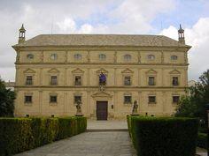 """Renacimiento español. Andrés de Vandelvira: """"Fachada del Palacio de las cadenas"""" (de Juan Vázquez de Molina), 1546-1565, en Úbeda."""
