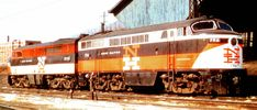 https://flic.kr/p/73F2VY   Fairbanks-Morse C-Liner front and Alco PA rear