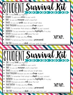 128 Best Back To School Survival Kits For Teachers Images School