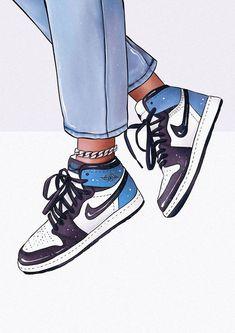 custom sneaker designs and original Jordan's print DIGITAL FILES upfront payment) Cute Canvas Paintings, Small Canvas Art, Mini Canvas Art, Diy Canvas, Acrylic Painting Canvas, Aesthetic Painting, Aesthetic Art, Art Mini Toile, Sneakers Wallpaper