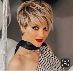 - All For Hair Color Trending Pixie Haircut For Thick Hair, Short Sassy Haircuts, Funky Short Hair, Edgy Haircuts, Short Hair With Bangs, Short Hair Styles Easy, Cute Hairstyles For Short Hair, Short Hair Cuts For Women, Short Curly Hair