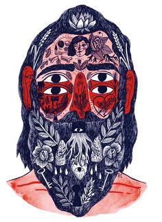 Beards & tattoos, a wild, daring trouble... Portratit, by RicardoCavolo