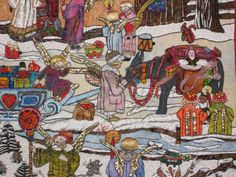Once Upon a Christmas Night - is also an Advent calendar!