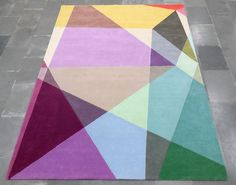 I can't get over how amazing these rugs are! Prism Rectangle - Contemporary Modern Area Rugs by Sonya Winner