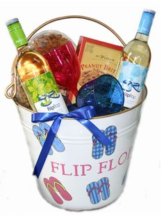 We offer gift baskets for all occasions. We maintain a very large selection of gourmet and gift stuffers, wine, spirits, and beer to add to any of our pre-designed gift baskets. Vacation Gift Basket, Summer Gift Baskets, Wine Gift Baskets, Fundraiser Baskets, Raffle Baskets, Acrylic Wine Glasses, Homemade Gift Baskets, Wine Bucket, Fairy Gifts