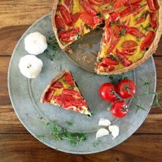 Tomato Spinache Pie