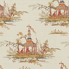 CEREMONY CHINOIS - Orange - Shop By Color - Fabric - Calico Corners