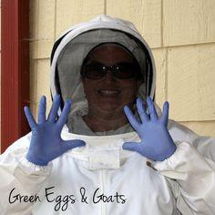 Frugal Beekeeping Gloves