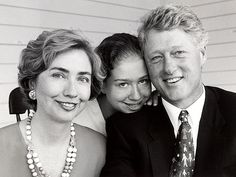 The Clinton family by Alfred Eisenstaedt