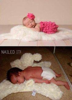 Hilarious Baby Photo Expectations Vs. Reality
