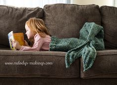 Ravelry: Mermaid Tail Blanket pattern by Melody Rogers