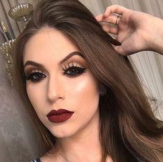 Step by Step Makeup - Professional Makeup - Party Makeup - Wedding Makeup - Graduation Makeup - Brid Glam Makeup, Eye Makeup Glitter, Skin Makeup, Bridal Makeup, Wedding Makeup, Beauty Makeup, Hair Beauty, Cute Makeup Looks, Gorgeous Makeup