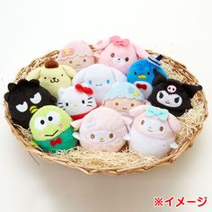 【2015】★SANRIO Plush Doll ★各¥ 540, 6x6x7cm ★#LittleTwinStars