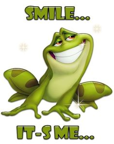 """Prince Naveen as a frog from Disney's animated movie """"The Princess and the Frog."""" See all Princess and the Frog Funny Frogs, Cute Frogs, Animals And Pets, Funny Animals, Cute Animals, Frog Pictures, Funny Pictures, Frog Quotes, Princesa Tiana"""