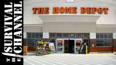Home Depot survival items-Follow me around-The Survival Channel