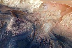 Divulgadas imagens mais detalhadas de sempre do 'Grand Canyon' de Marte | alien's & android's technologies
