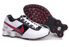the latest e20ca 81c22 Men s Nike Shox OZ Shoes White Black Silver Red Top Deals, Price   69.12 -  Women Stephen Curry Shoes Online