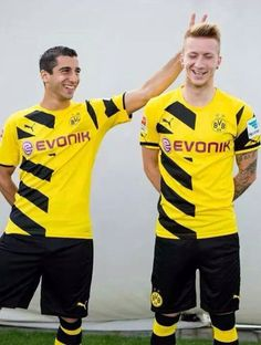 Mkhitaryan and Reus #BVB
