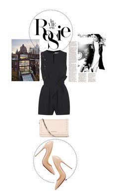 """""""Jenny"""" by loeswhite ❤ liked on Polyvore featuring Whiteley, Victoria, Victoria Beckham, Givenchy, Vanity Fair and Christian Louboutin"""