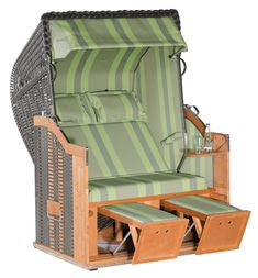 #gartenmöbel #loungemanufaktur #garten #strandkorb #loungemöbel Outdoor Chairs, Outdoor Furniture, Outdoor Decor, Home Decor, Gliders, Beach Tops, Lounge Furniture, Pillows, Nursing Care