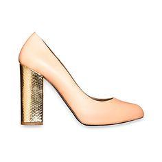 #Marni shoes #gold