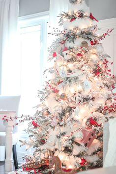 Craftberry Bush | 2015 Christmas Home Tour – Part II | http://www.craftberrybush.com