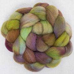 Cheviot hand dyed roving tops fibre felting materials