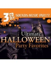 Ultimate Halloween Party Favorites Music 3CD Set-Party City #partycity and #halloween