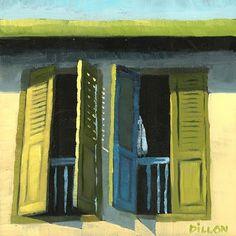 Shophouse No. 97 Original Oil Painting