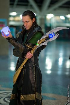 Loki | Comikaze 2013 - this really is one of the better male Lokie cosplayers I've ever seen.