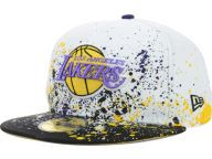 Buy Los Angeles Lakers NBA Splatter 59FIFTY Cap Fitted Hats and other Los Angeles Lakers New Era products at NewEraCap.com