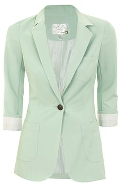 LONG BLAZER | Dynamite.ca - I am buying the mint one right after Christmas