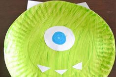 Paper plate monsters craft just in time for #Halloween #crafttimeforkiddos